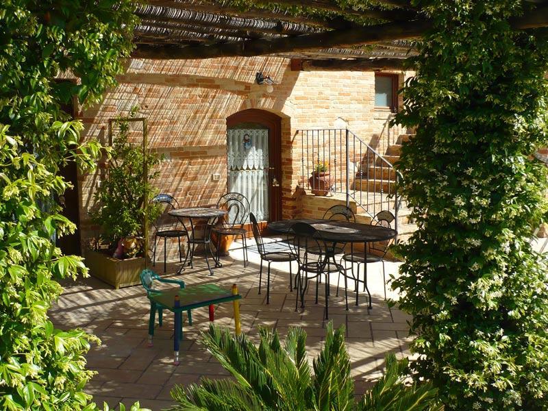 La Casa degli Gnomi, un agriturismo a Ortezzano, Fermo, Marche